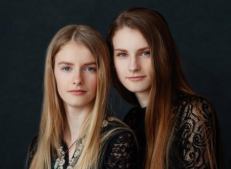 Õed stuudios: Hanna & Liis