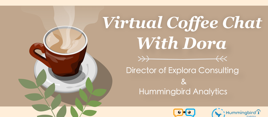 Virtual Coffee Chat with Dora