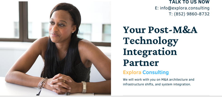 You need a technology integration partner after M&A merger and acquisition