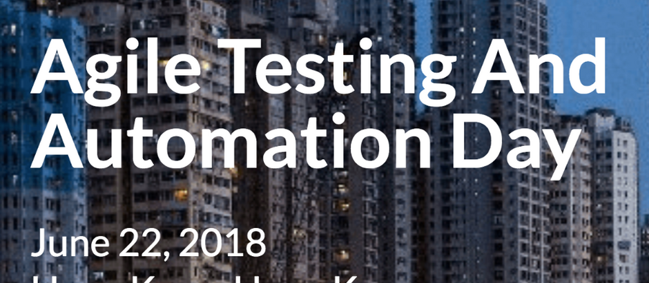[EVENT] Agile Testing and Automation Day 2018
