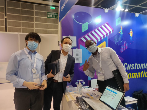Thank you for visiting our booth at Retail Asia Expo 2020