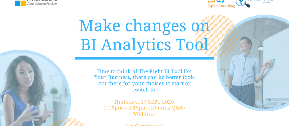 [Microsoft x Explora Webinar] Make Changes on BI Analytics Tool