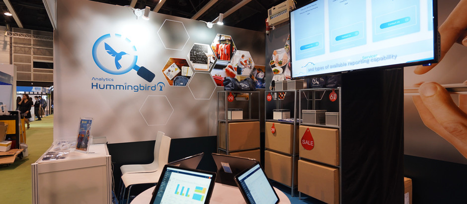 Hummingbird Analytics Platform's First Show at The Retail Asia Expo 2019