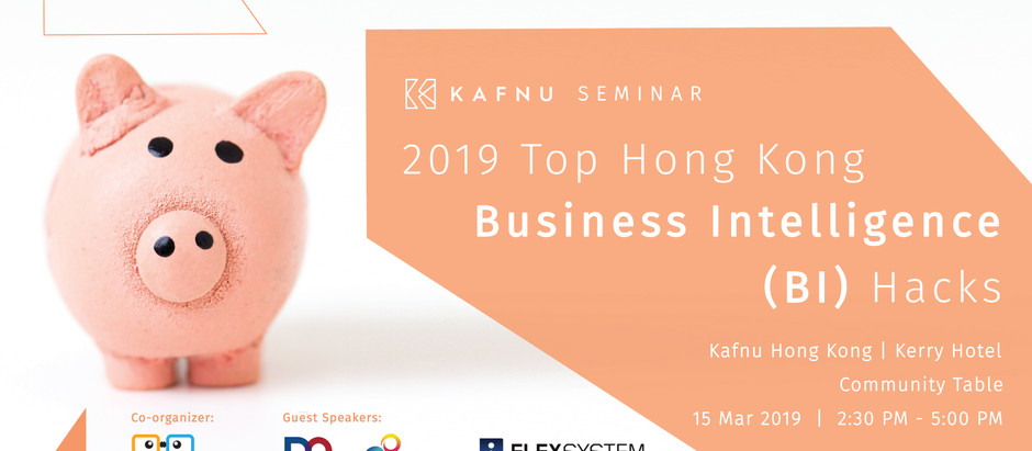 [EVENT] 2019 Top Hong Kong Business Intelligence (BI) Hacks