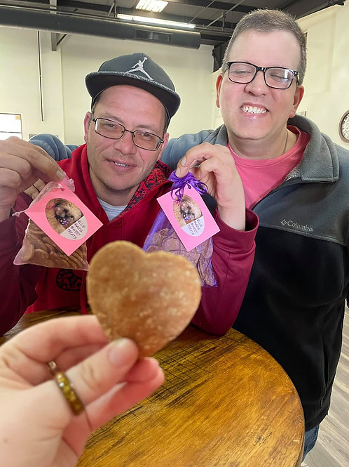 Valentine Hearts - Large Treats