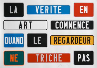 Joël Ducorroy, La vérité en Art, 2015,