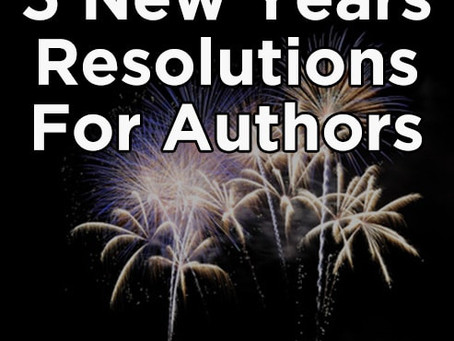Reblog: 5 New Years Resolutions for Authors