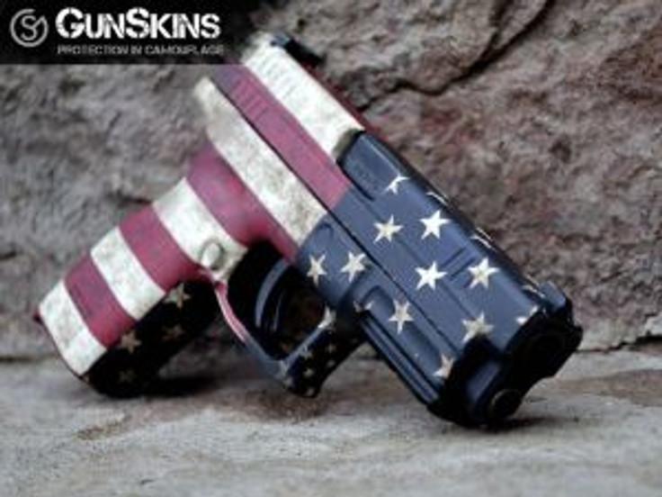American gun patriotic