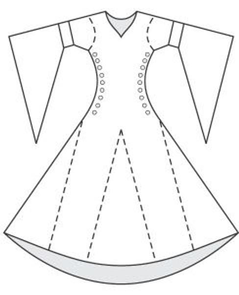 bliaut-pattern