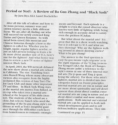 Mudpuppy June 2003 Black Sash Review pg