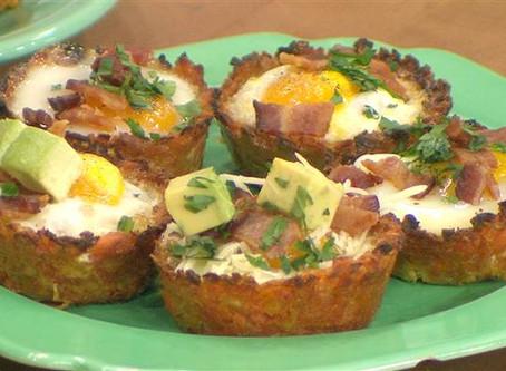 Repost: Sweet potato hash brown egg cups
