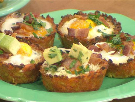 Repost: Sweet potato hash brown egg cups