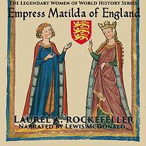Empress Matilda of England audio cover.j