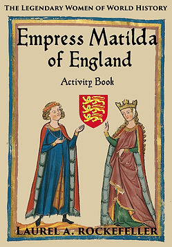 Empress Matilda of England activity book