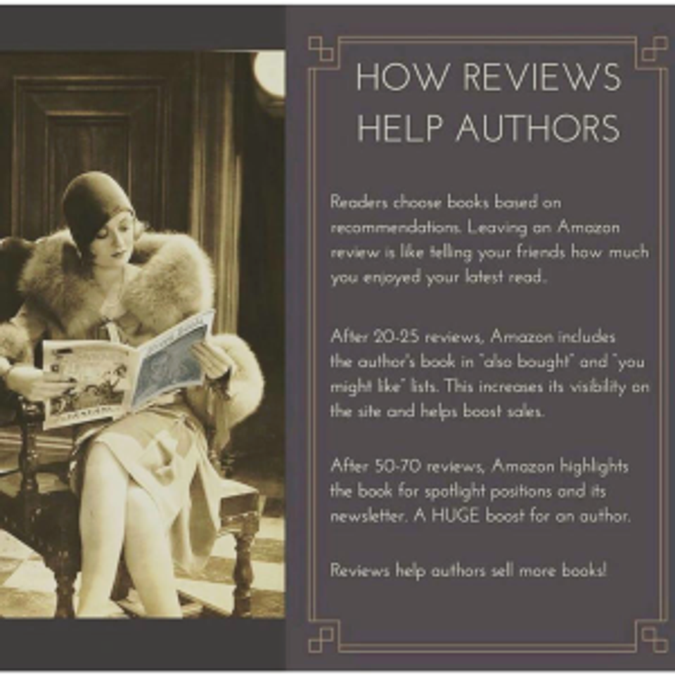 reviews help authors