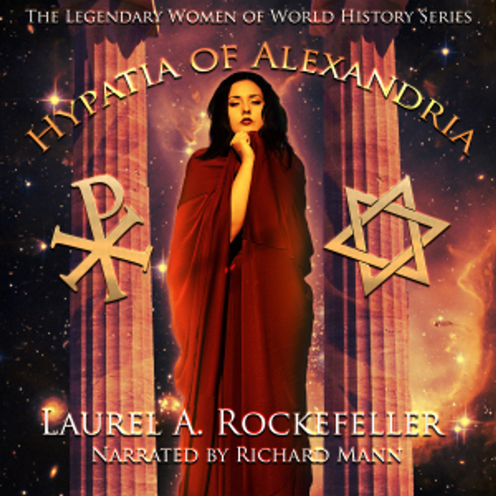 Hypatia of Alexandria audio cover