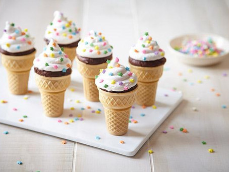 Recipe: Ice Cream Cone Cupcakes