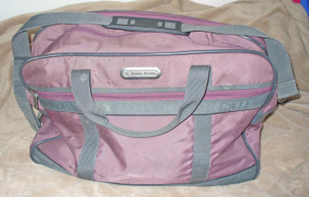 American tourister carry on bag