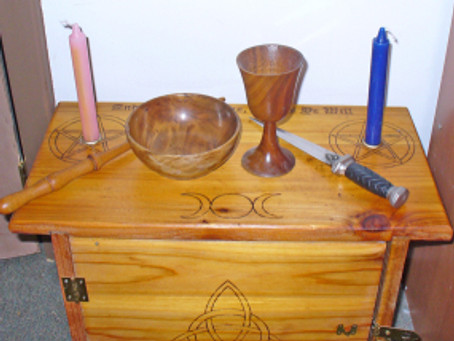 Major and Minor Tools in Wicca