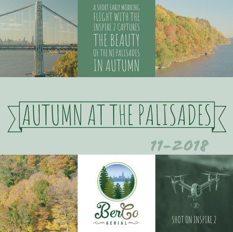 Drone Video: Autumn at the NJ Palisades