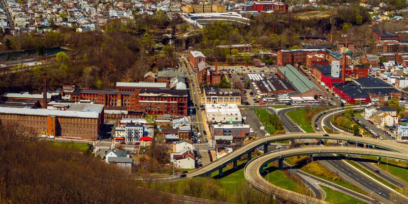 Paterson, NJ Aerial Panaorama