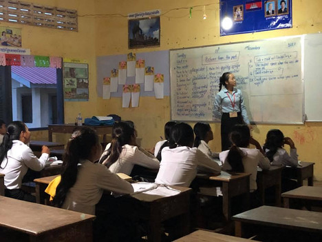 JGG TRAINS STUDENTS TO TEACH STUDENTS