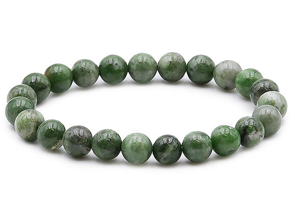 Diopside Vert B  Perles 8mm