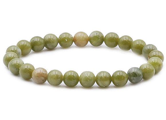 Jade Néphrite B Perles 8mm
