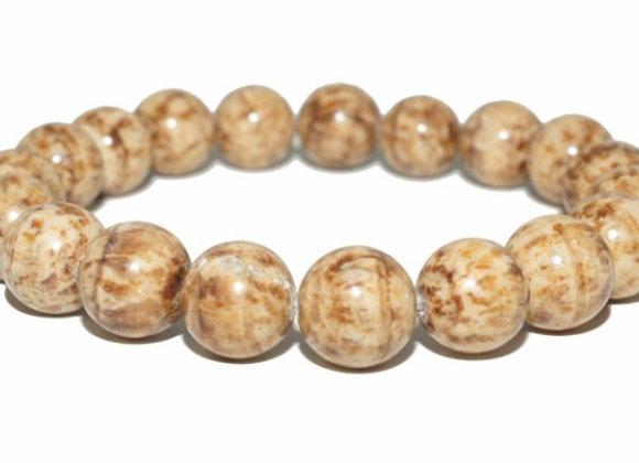 Aragonite perles 8mm