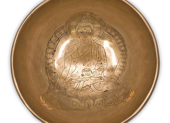 Bol Tibétain Bouddha Médecine