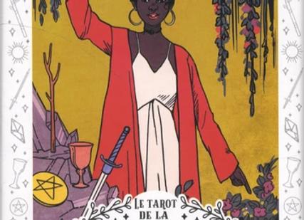 Le Tarot de la Sorcière Moderne - Avec 80 cartes et 1 sachet satiné