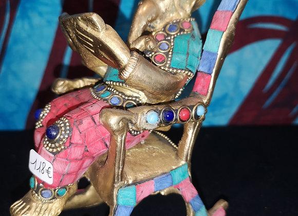 Ganesh en Bronze