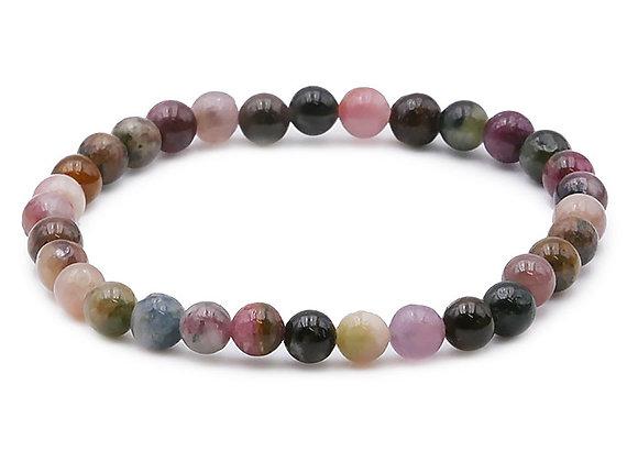 Tourmaline Multicolore perles 6mm