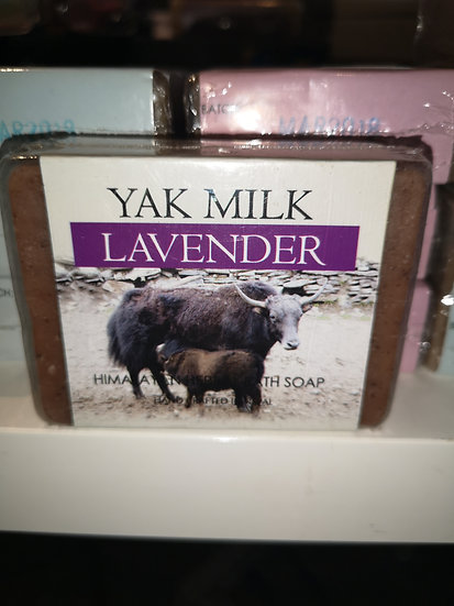 Yak Milk Lavender Soap