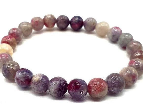 Tourmaline Multicolore perles 8mm