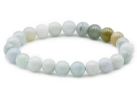 Jade de Birmanie B Perles 8mm