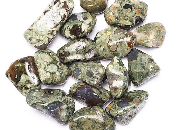 Rhyolite pierres polies