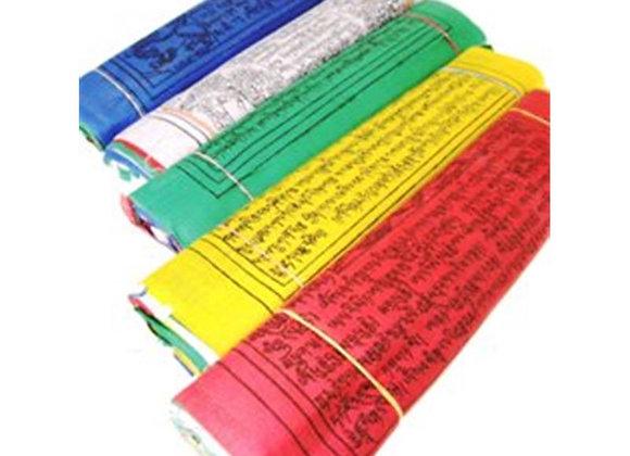 Drapeaux de prière tibétains L fil de 10