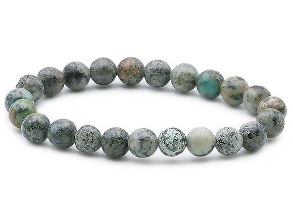 Turquoise Africaine perles 8mm