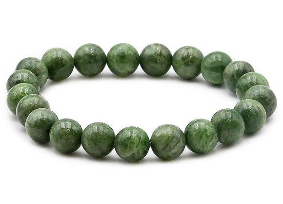 Diopside Vert A  Perles 8mm