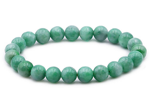 Jade de Birmanie A+ Perles 8mm