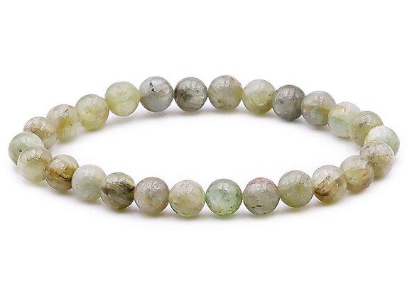 Cyanite Verte A Perles 8mm