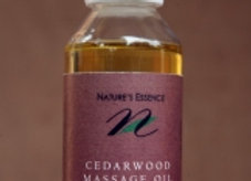 Cedarwood Massage Oil