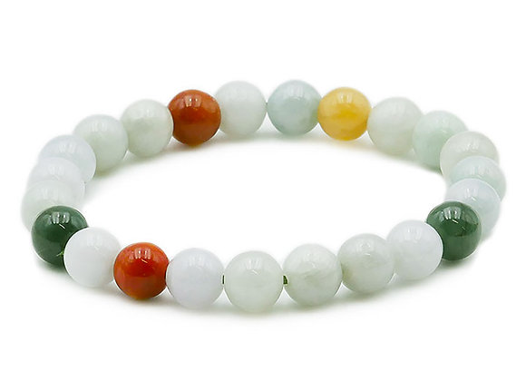 Jade de Birmanie AB Perles 8mm