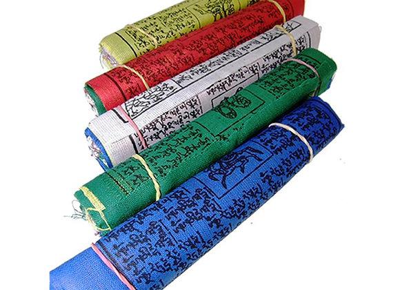 Drapeaux de prière tibétains M