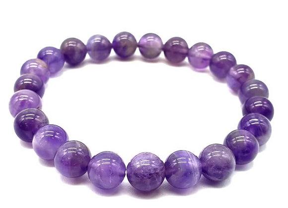 """Améthyste """"Purple light"""""""