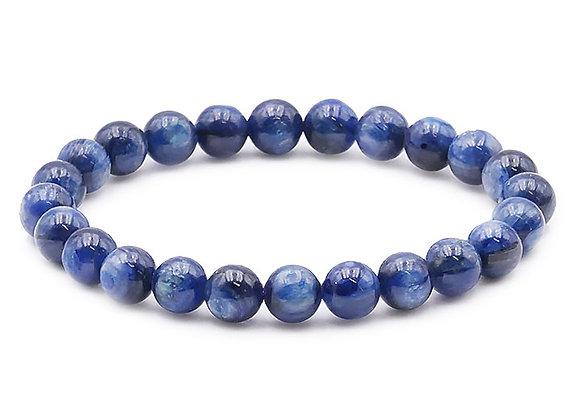 Cyanite Bleue B Perles 8mm