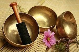 Massage sonore au bols chantants