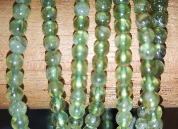 Péridot Perles 4mm