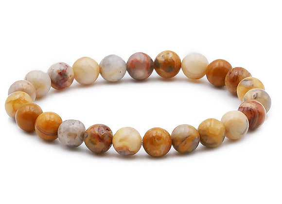 Agate Crazy Lace AB Perles 8mm
